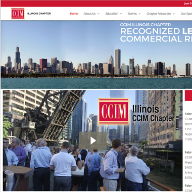 CCIM Website Redesign